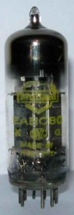Mullard EABC80 valve