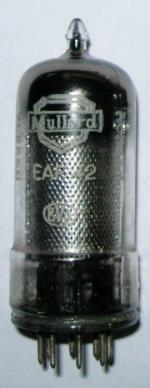 A Mullard EAF42 valve