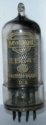 Mullard EBC41 valve