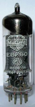 Mullard EBF80 valve