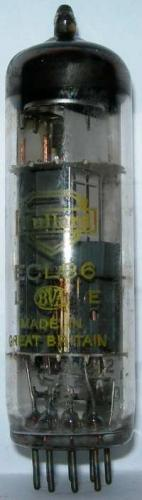 Mullard ECL86 valve