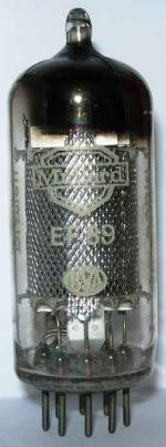 Mullard EF89 valve