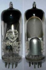 Mullard EM80 valve.