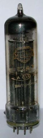 Mullard EZ40 rectifier valve.