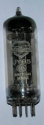A Mullard UY85 valve