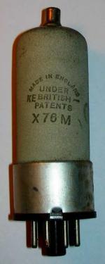 An Osram X76M valve