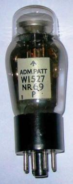 British W1527 magic eye valve