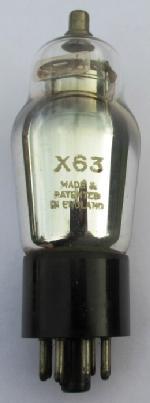 A British made X63 valve