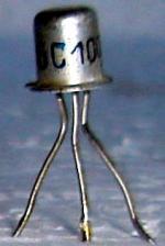 kurze Bauform, aus DDR-Hörgerät