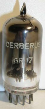 CERBERUS  noval 9 pin Poids : 10 grammes Hauteur  max : 5.2 cm Diamètre : 2 cm