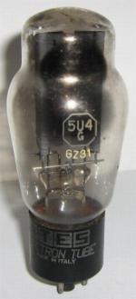 ATES Electron Tube GZ31-5U4G