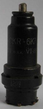 6K7 mit Adapter auf Aussenkontakt