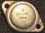 Der MJ3001 wurde als Leistungstransistor in Netzteilen sowie in Verbindung mit seinem Komplementär-Partner MJ2501 auch in Endstufen mit einer Ausgangsleistung von 50 Watt Sinus verwendet. Die Ausführung von Motorola wurde in leichtem, besonders wärmeleitfähigen Aluminium hergestellt.