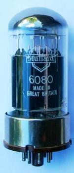 A Mullard 6080 valve.