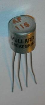Mullard AF116 Germanium transistor