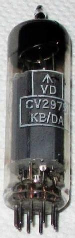 A Mullard CV2975 valve.