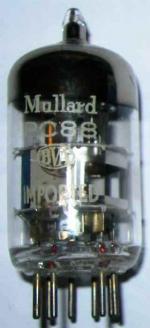 A Mullard PC88 valve