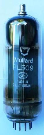 A Mullard PL509 valve.