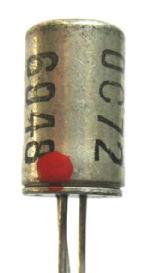 OC72, TO-1 Gehäuse