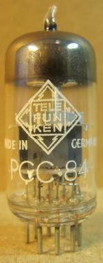 PCC84 Telefunken Made inGermany