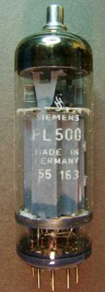PL500_Siemens, Zeilenendstufe ältere TV-Geräte.