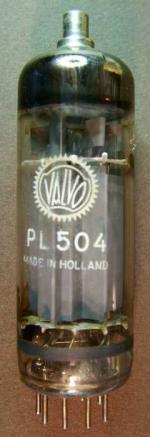 PL504_Valvo, Zeilenendstufe in TV-Geräten