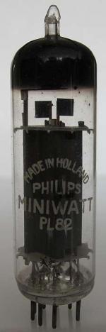 PL82 Philips Miniwatt Made in Holland