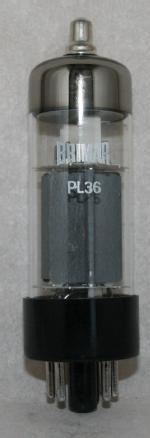 PL 36 Common type Europe tube/semicond EU