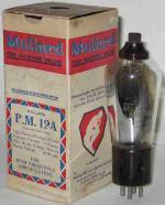 Mullard PM12A with UX base.