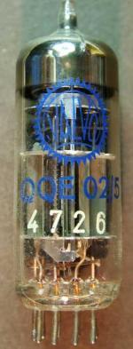 QQE02-5_Valvo, Sendeendstufe in mobilen 2m-Band Funkgeräten.