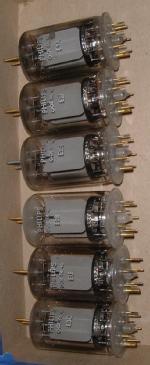 Lot de 6 tubes d'occasion