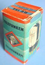 RE154, Telefunken, Karton