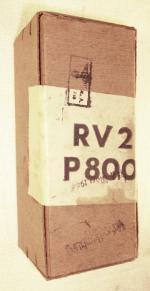 Original versiegelte Schachtel mit Röhre