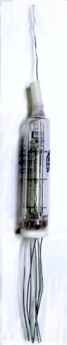 Note ribbed indentation on tube