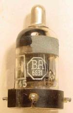 RV12P2000, BA 6631, Telefunken, Wehrmacht, 13.43, 00.06