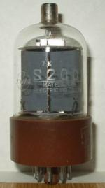 S200 de Matsushita Electronic Culot Octal 8 pin poids 56 grammes Diamètre 3,8 cm Hauteur 9cm (avec pin)