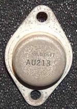 Der AU213 wurde in der Horizontal - Endstufe bzw. Ablenkung verwendet.