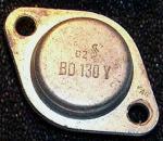 Als BD130Y nur 60V Umax (Uce)