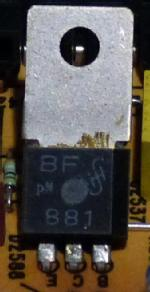 Eingebaut im Grundig CUC 740