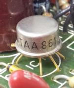 TAA861 auf Steckmodul unbekannter Herkunft