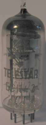 An authentical Telefunken tube but renamed to 'TELESTAR' in Finland.