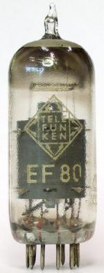 Erstbestückungsröhre aus Blaupunkt Fernsehgerät V52 (1951)
