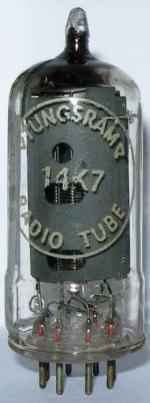Tungsram 14K7 / UCH42 valve