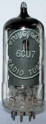 Tungsram 6CU7 / ECH42 valve