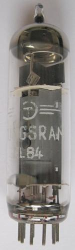 Tungsrams eigene Variante der EL84 - Ansicht 1