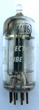 A US made RCA 6AV6 valve.