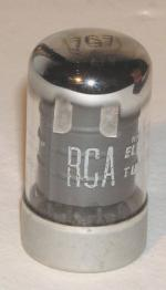 Per email from Jacob Roschy - this RCA tube is the early 7G7 tube , , , ,before th edecision was made to identify it as the equivalent 7G7/1232,