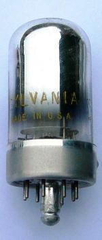 A US made Sylvania 14B6 valve.