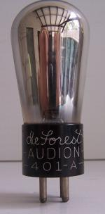 DeFOREST AUDION 401A