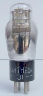 Raytheon 31 Triode Tube